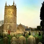 Kerk van St Endellion door Ben Nicholson