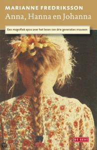 Anna Hanna Johanna boek