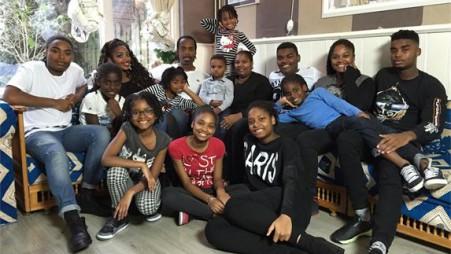 De familie Baumgard uit Een Huis Vol