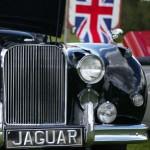 Engelse vlag bij Jaguar