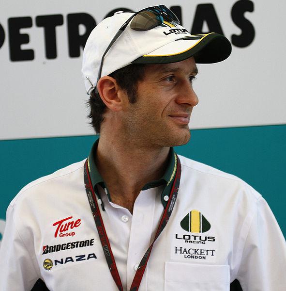 jarno trulli 2010 formule 1-coureur