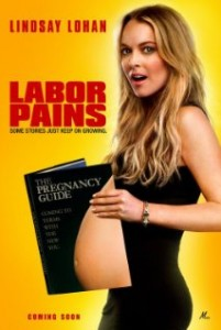 Lindsay Lohan in Labor Pains