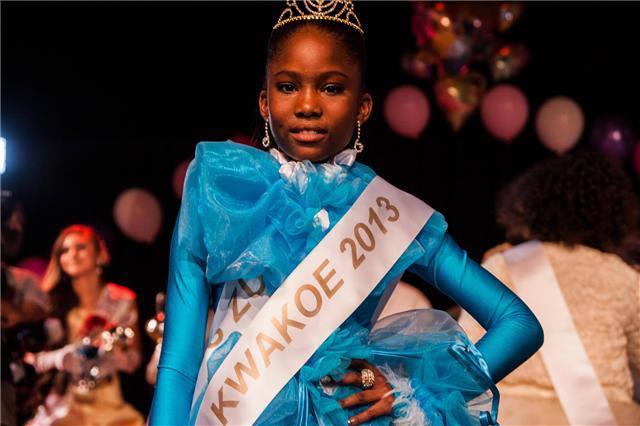 Zulema Themen is Little Miss Kwakoe 2013