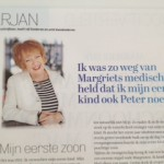 Marjan Berk noemde oudste zoon Peter