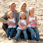 Willem-Alexander, Maxima, Amalia, Alexia en Ariane